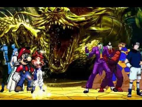 Street fighter vs marvel vs naruto vs Bleach vs nintendo