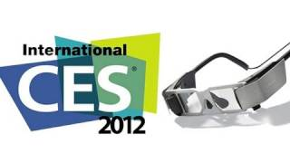 CES 2012 - Lumus Personal Display Glasses Make HUDs a Reality
