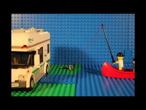Lego shark fishing (a lego stop motion)