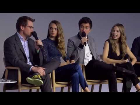 Paper Towns Cast Interview with Cara Delevingne, Nat Wolff, Halston Sage