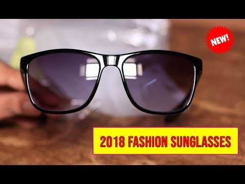 2018 Fashion Sunglasses Men Driving Sun Glasses For Men Brand Design High Quality