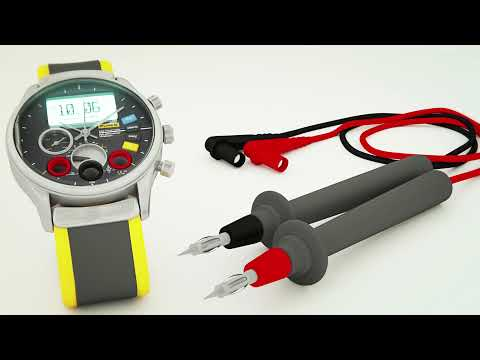 Flake 378 Multimeter Watch - www.originmedia.at