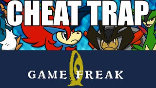 """Pokemon Theory: Gamefreak set a """"Hack Trap"""" with Online Competitions to catch Powersave Cheaters"""