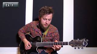 Armen Movsesyan - Jazz Guitar Metronome Exercises Lesson Excerpt