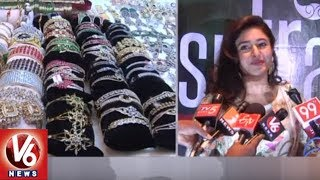 Actress Poonam Bajwa Inaugurates Sutraa Fashion Exhibition At Taj Krishna | Hyderabad