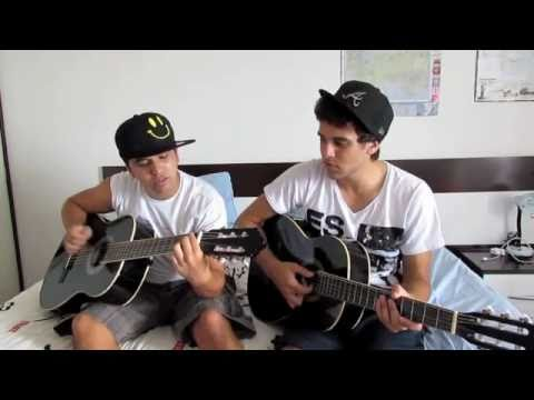 Jonas Brothers - Give Love a Try - Cover ( Tchuba & Carolino ) Music Videos