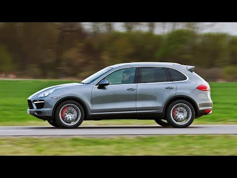Реклама Porsche Cayenne — Динамика в песках
