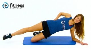 Flat Belly Workout - Abs and Obliques Workout to Tone Stomach