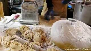 London Street Food. Italian Pasta Hand Made in Camden Lock Market
