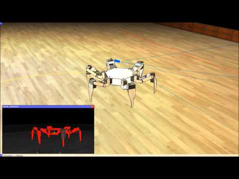 Robotics Simulator: Object Tracking in V-REP