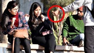 Pulling Snake From Girls Hair Prank | AVRprankTV | Pranks In India