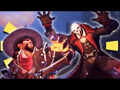 """Overwatch - NEW REAPER & MCCREE SKINS for Halloween 2017 Event + """"New Hero"""" Discussion"""
