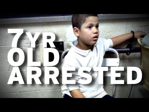 7 Year Old Arrested, Mom sues for $250 Million
