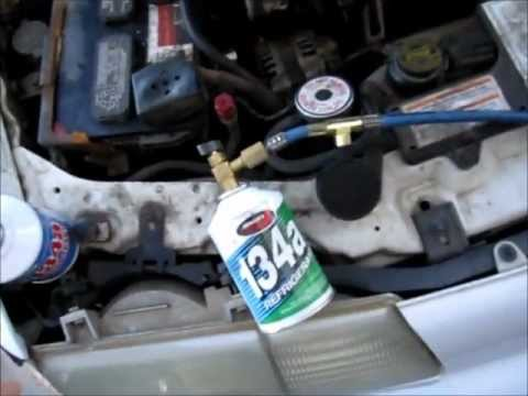 How To Charge Auto A/C Systems - Backyard Style Car AC Fix