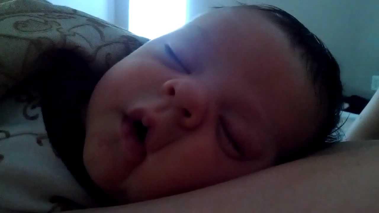 Baby Smiling Smiling Sleeping Baby