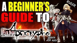 A Beginner's Guide to FATE APOCRYPHA