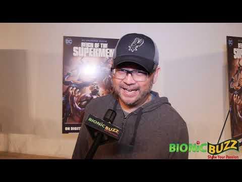 Sam Liu Interview At Reign Of The Supermen World Premiere