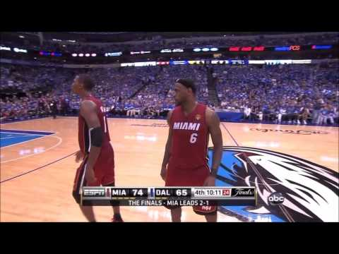 2011 NBA Finals Miami Heat V Dallas Mavericks Game 4