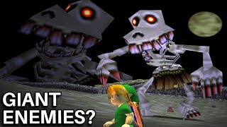 The Mystery of the Giant Enemies in Ocarina of Time (Zelda)