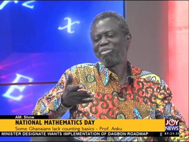 National Mathematics Day - AM Show on Joy News (11-2-16)