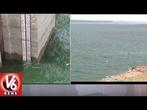 Nagarjuna Sagar Water Reaches Dead Storage Level | Special Report | V6 News