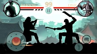 Shadow Fight 2 - Shadow vs LYNX - Gameplay Video - Let