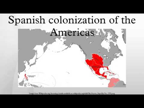 history spanish colonization of the americas In this article colonization of english america in the colonization of the americas world grew out of the earlier example of the spanish.