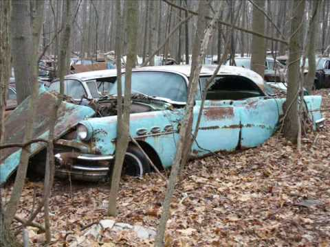 Old cars in junk yards #3