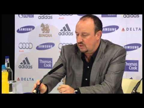 Rafa Benitez unveiled at Chelsea - ISNTV Breaking Sports News