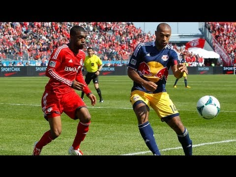 HIGHLIGHTS: Toronto FC vs New York Red Bulls | April 27th, 2013