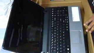Acer Aspire laptop E1-571 Unboxing + First Look.