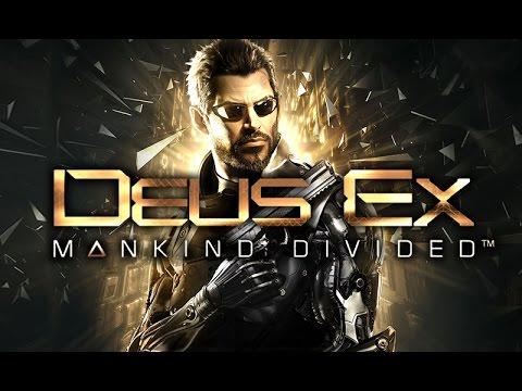 Фильм DEUS EX: MANKIND DIVIDED (полный игрофильм, весь сюжет) [60fps, 1080p]