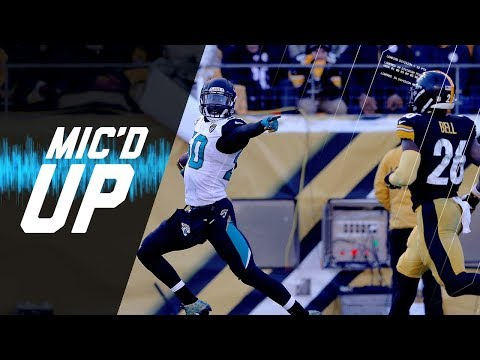 "Mic'd Up Jaguars vs. Steelers Divisional Round ""Blake is Stepping Up!"" 