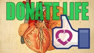 Share your Organs on Facebook!?