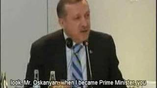 "TURKISH PRIME MINISTER TALKS ABOUT ARMENIAN ""GENOCIDE"""