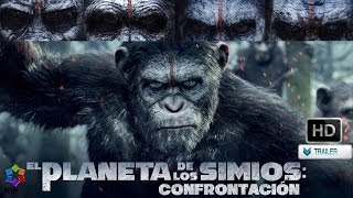 El Planeta delos Simios: Confrontación   Trailer Oficial AUDIO LATINO HD