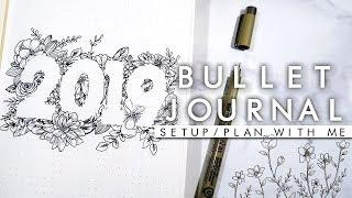 2019 New Bullet Journal/Planner Setup ✨Elegant✨