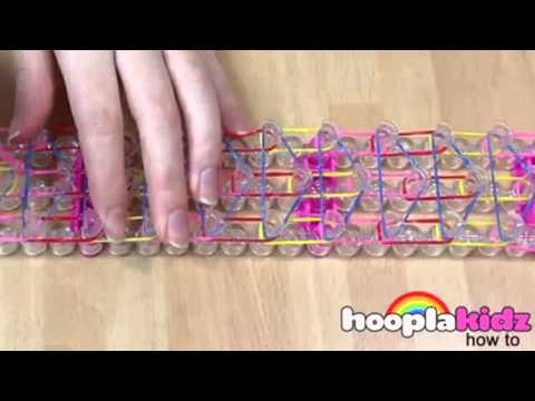 How To Make An Easy Waterfall Loom Bracelet Band  Easy 2015