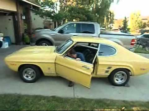Test Drive the 1974 Ford Capri V8!