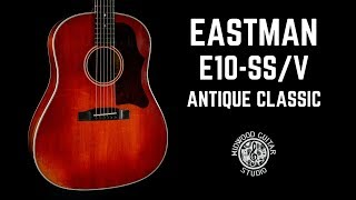 Eastman E10-SS/V Antique Classic | Midwood Guitar Studio