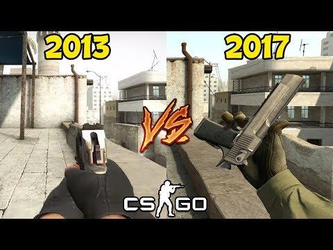 CS:GO 2013 VS 2017
