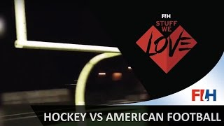 Hockey meets american football - Hockey Stuff We Love
