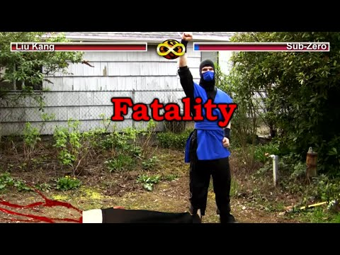Real Mortal Kombat : Video Game Flaws (MK Parody)