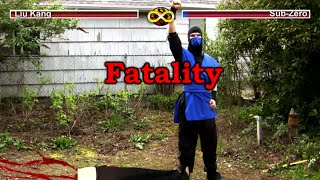 REAL MORTAL KOMBAT - Game Flaws (MK Parody)