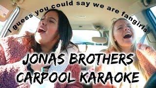 THE JONAS BROTHERS ARE BACK!! CARPOOL KARAOKE!!!