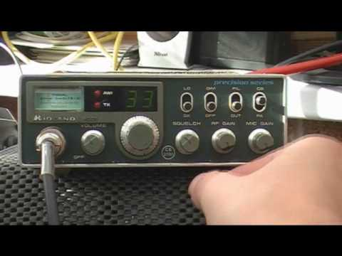 Midland 4001 40 Channel UK FM CB Radio