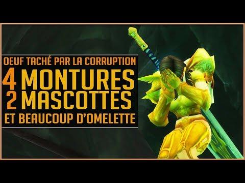 World Of Warcraft - 4 Montures, 2 Mascottes et de l'Omelette ! [PATCH 7.3]