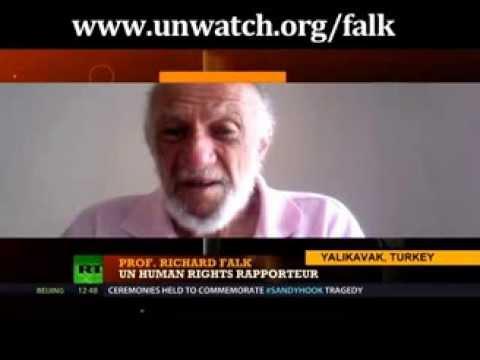"""UN official Richard Falk calls Israel """"genocidal"""""""