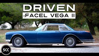 FACEL VEGA II 1962 - Test Drive in top gear | Engine sound | SCC TV