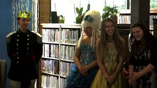 Little Mermaid at the Dawson Creek Public Library